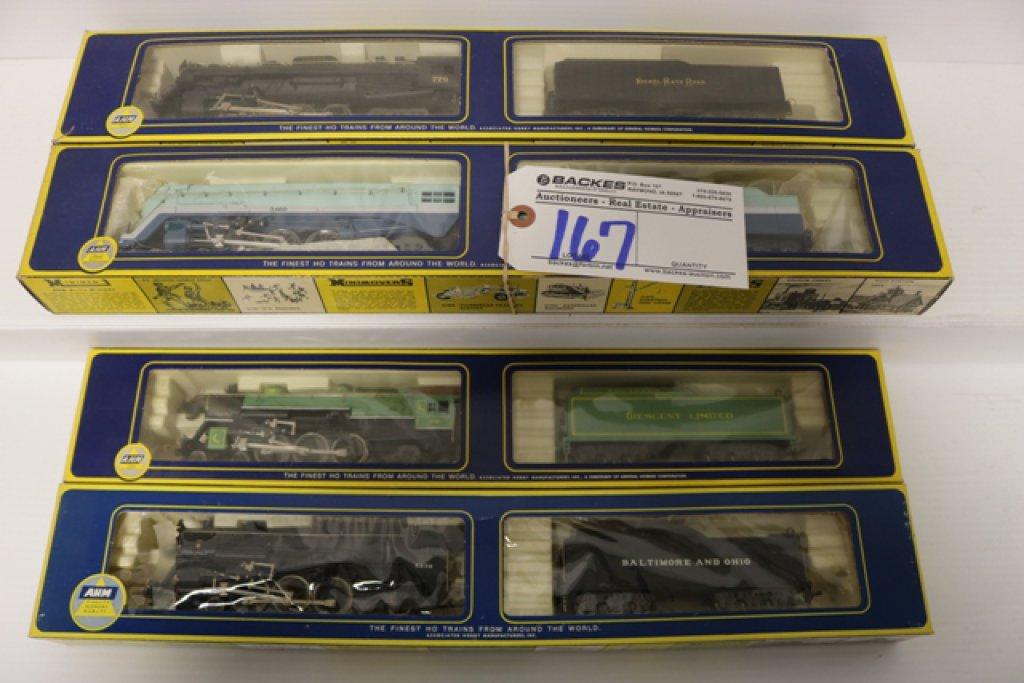 Ahearn 464 Hudson Blue Goose 5196B Santa Fe - Berkshire 284 5061-B NPR 462