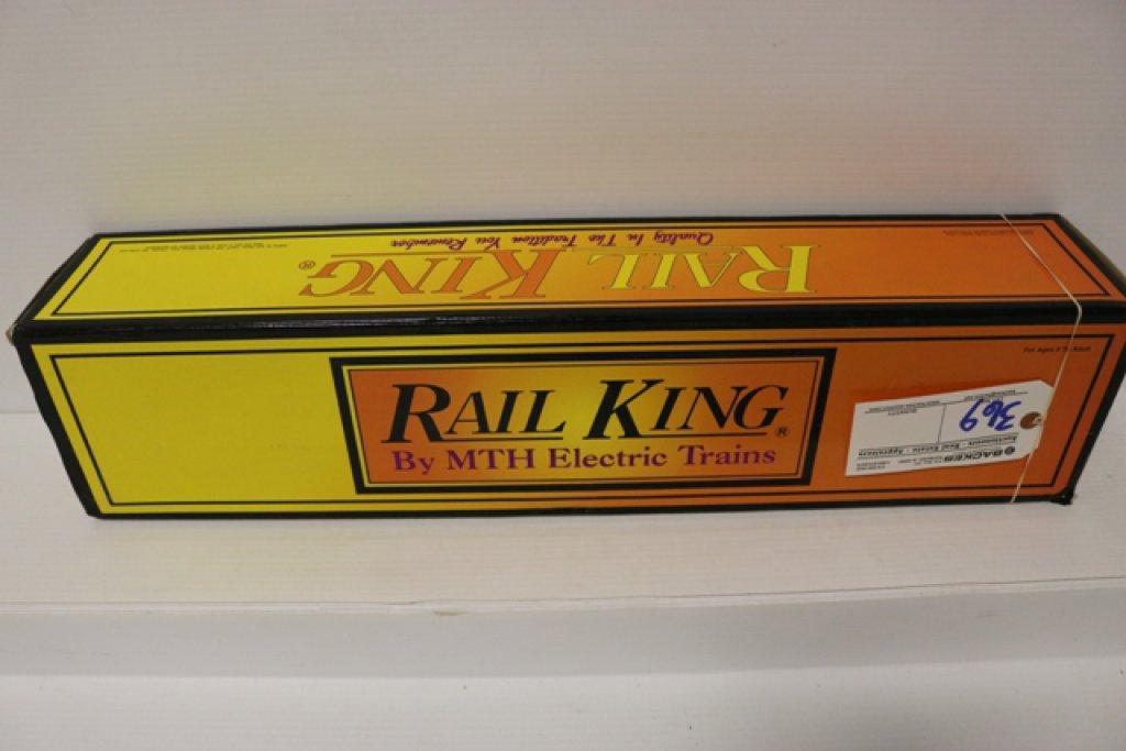Rail King Hudson steam engine 30-1127-1 Milwaukee Road