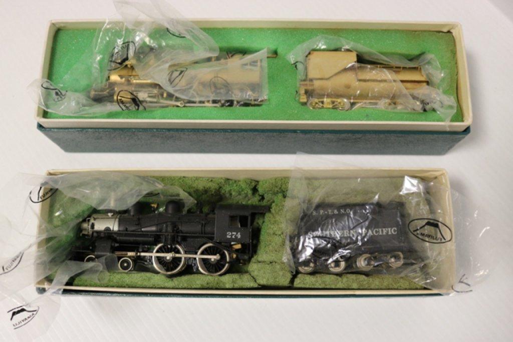 2) Fujiyama SP-T & NO Class E-23 4-4-0 274 locomotive with tender & SP-T&NO