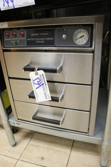 Henny Penny HCH-930 3 drawer warming cabinet