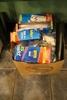 Box Ziploc bags & mason jar lids
