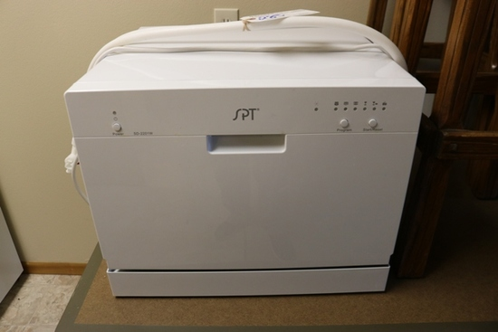 "SPT SD2201W 22"" countertop dishwasher"