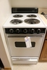 """Kenmore 21"""" electric 4 burner stove with oven"""