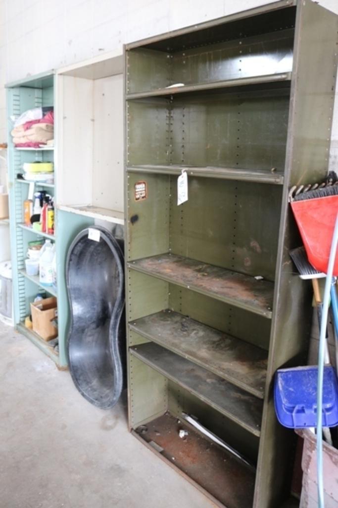 "Times 2 - 36"" Metal parts shelving"