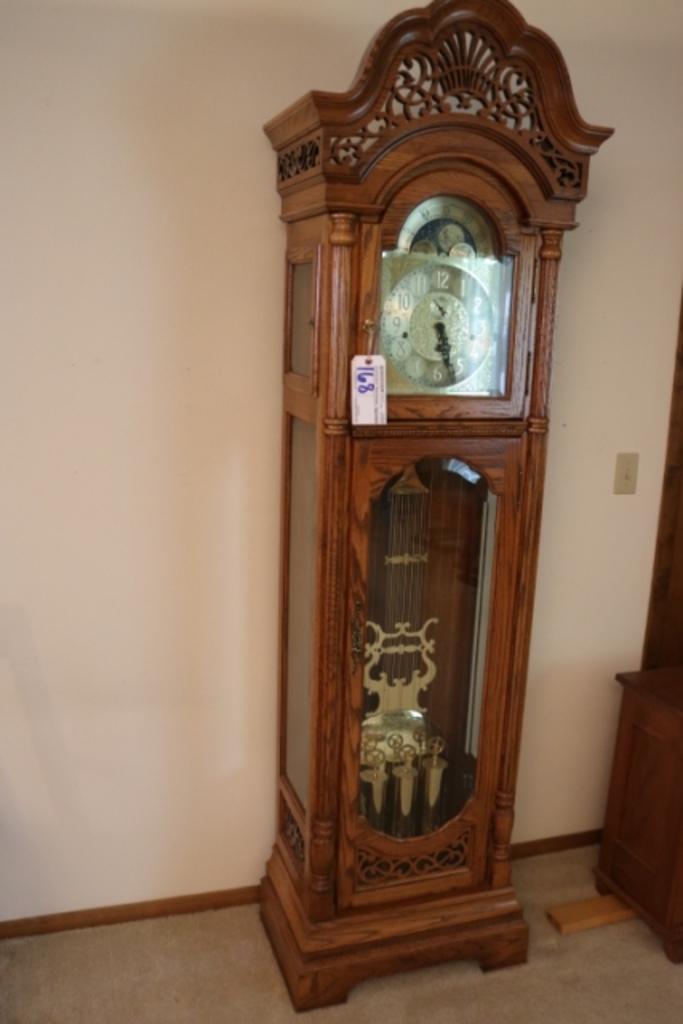 Harrington house grand father clock
