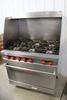 2009 Vulcan 6 burner gas range w/ oven