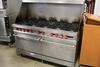 2009 Vulcan 10 burner gas range w/ double ovens