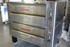 Fabulous Blodgett 981-P stacked gas slate deck pizza ovens, 50,000 btu, own