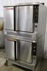 2009 Blodgett Zephaire gas stacked convection ovens