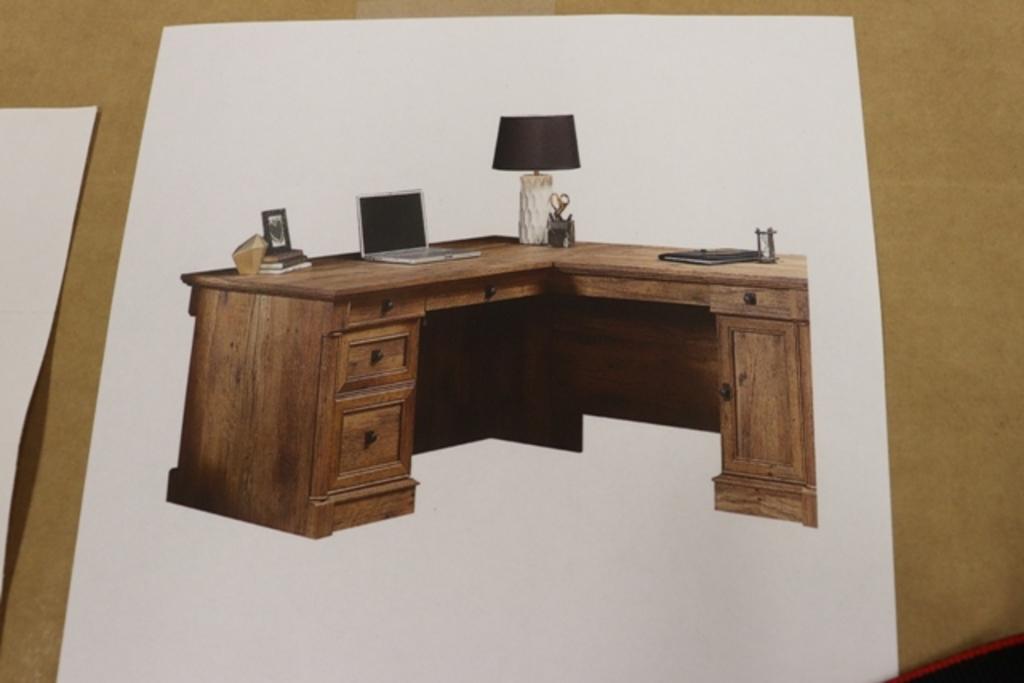 New Suader L shaped desk