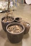 Times 4 - Flower pots