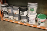 All to go - shelf of adhesives