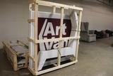 3 pallets of Art van sign
