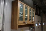 Hanging wood cabinet
