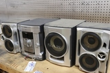 Sony stereo with 3 speakers