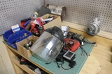 All to go - misc. tools on work bench
