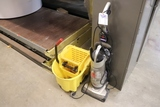 Mop bucket & vacuum