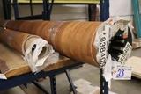 Roll of Pierce Newburg golden rod laminate flooring