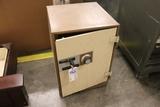 Meilink floor safe - no combination but door open