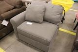Grey end chair