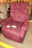 Red power lift chair - AS IS