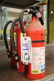 Times 3 - 2) Badger & 1) Kidde ABC fire extinguishers