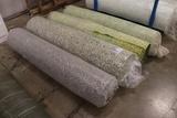 Times 4 - Rolls of carpet padding