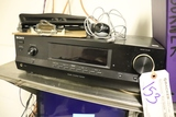 Sony receiver with speakers