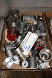 Box flat to go - stainless fittings, couplers and more
