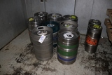 Times 11 - 9) 1/2 & 2) 1/4 barrel kegs - these do have some product in them