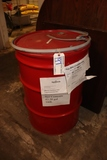 55 gallon drum with lid and ring
