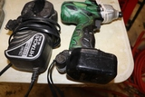 Hitachi 18v drill with charger