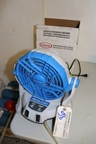All to go - Artic Care fan - battery charger - insect repellant and more