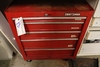 "26"" Craftsman rolling tool box with tools"