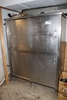 "30"" x 60"" x 74"" tall stall wall cabinet with 4 sliding doors"