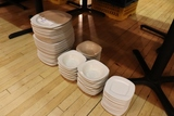 All to go - Misc. plates & bowls
