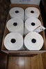 Case of First Mark hand towel rolls