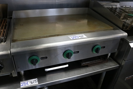 "Supera 36"" LP gas flat grill"