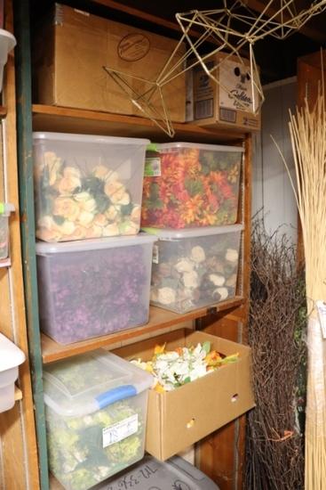 All to go - 4 shelves - floral décor