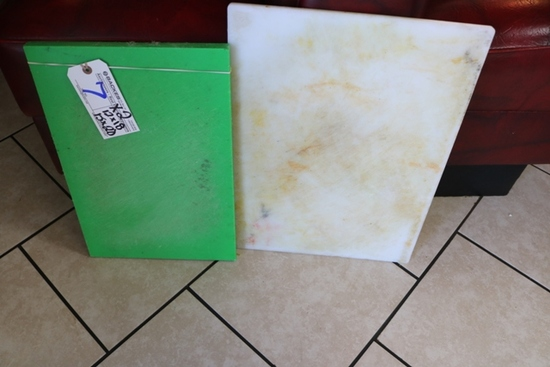 Times 2 - Poly cutting boards