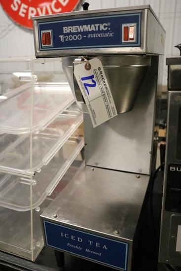Brewmaster T2000 iced tea brewer - no pots