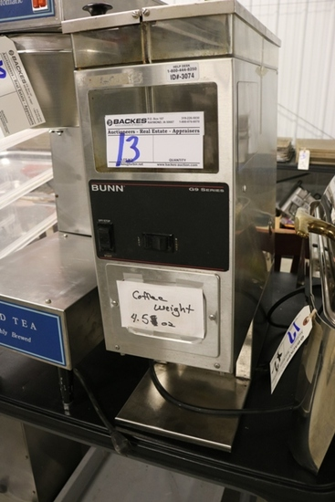 Bunn C9 series grinder