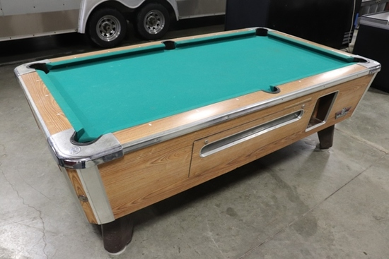Valley Coin Op pool table
