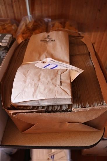 Bale of #8 paper sacks