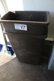 Times 2 - Brown kitchen trash cans
