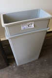 Times 2 - Grey kitchen trash cans