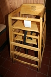 Times 2 - Wood high chairs