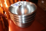 Times 4 - Stainless mixing bowls