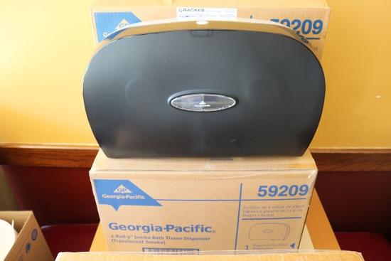 Times 3 - Georgia Pacific 2 roll jumbo bath tissue dispensers