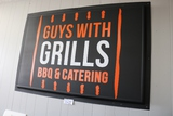 Times 2 - 4' x 6' Guys with Grills signs